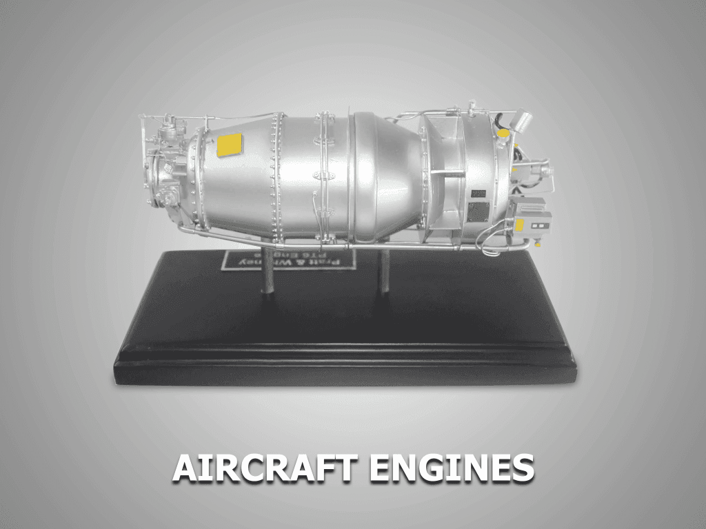 aircraft engines custom replica