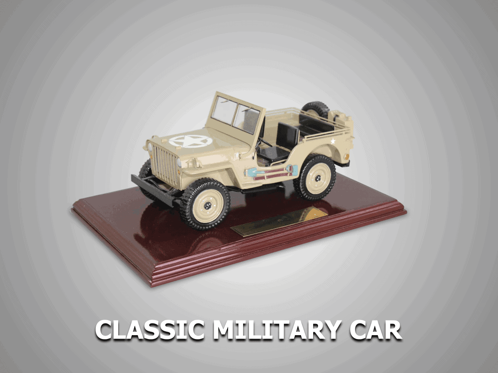 classic military car