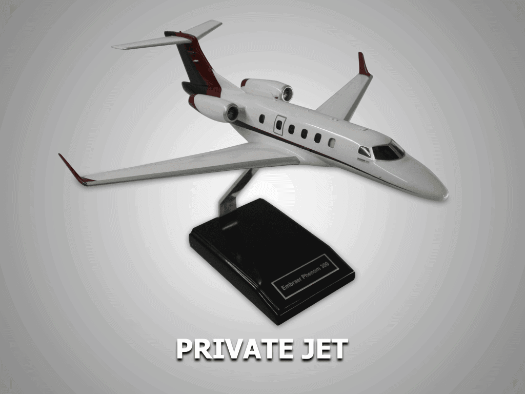 private jet model maker