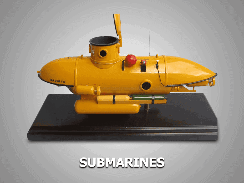 submarines models