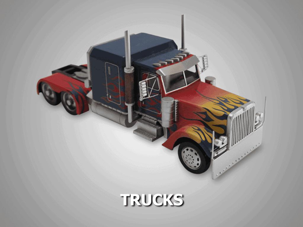 truck model custom