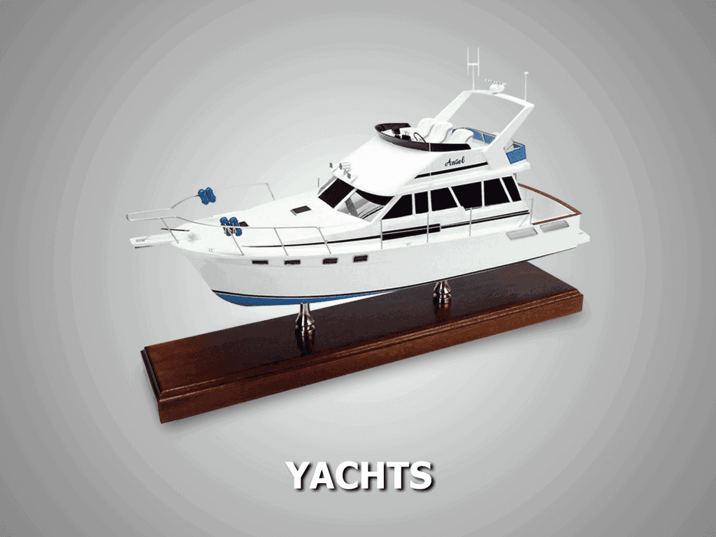 custom yacht models