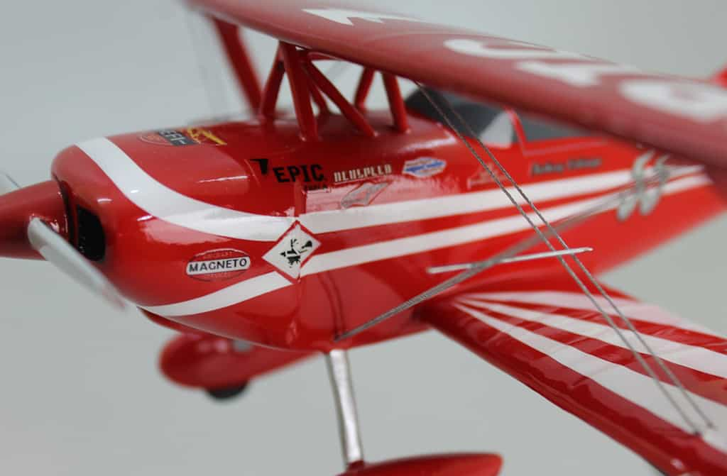 custom airplane model