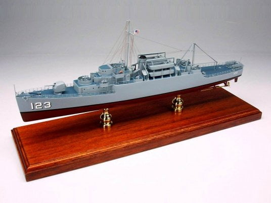 USS Diachenko APD-123 Model Ship