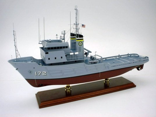 usns apache t atf 172 ship model
