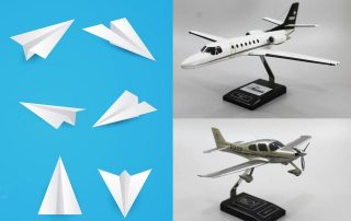 From Paper Planes to Airplane Models Evolution of Aviation Toys