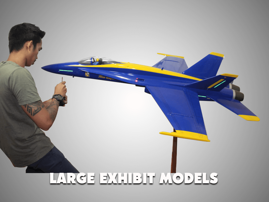 Large Exhibit Models 2