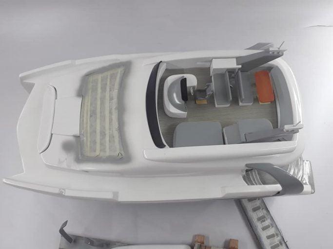 BALI Catamaran 4.3 Motor Yacht Model 2