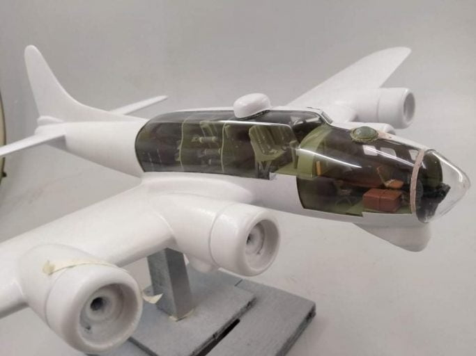 Boeing B 17 Flying Fortress Military Aircraft Model 2