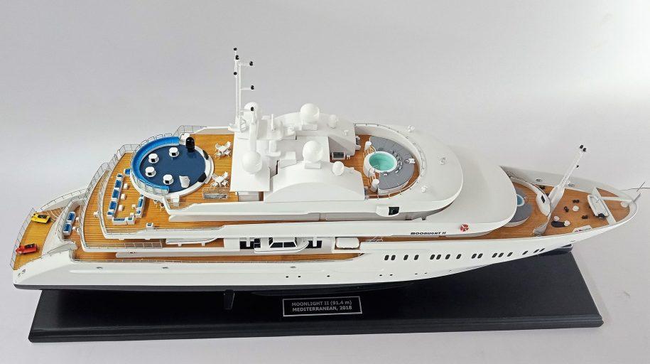 Moonlight II Yacht Model